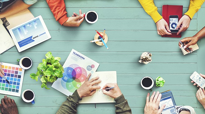 design thinking, brainstorming online